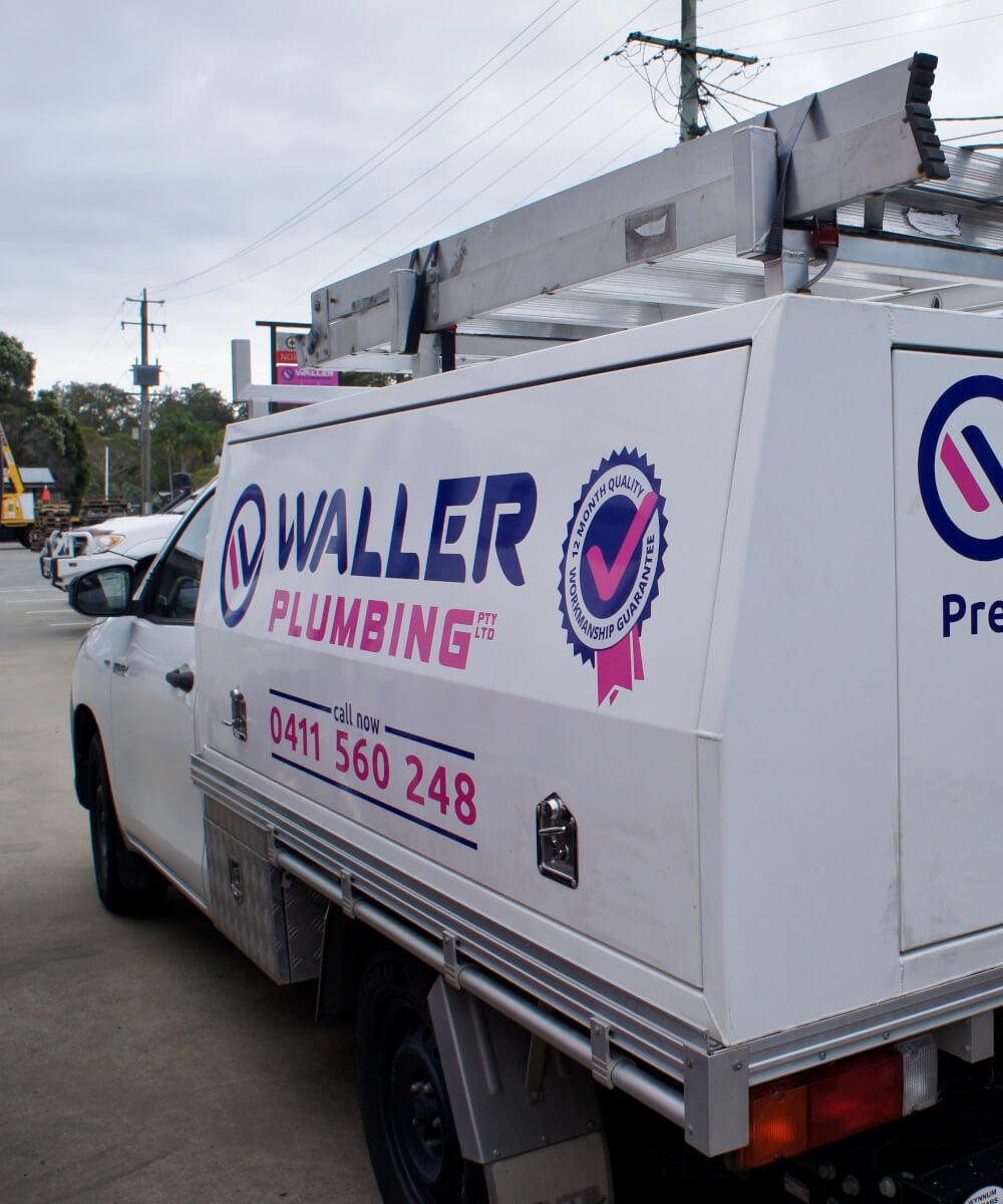 Waller Plumbing Brisbane vehicle